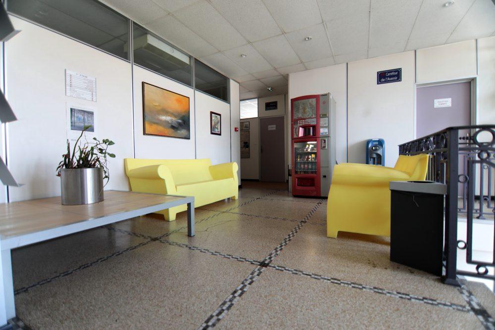 bureaux à louer lille lumineux, espace détente